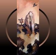 Flight of The Kereru - Acrylic - Patricia Howitt